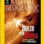 """Lipcowy numer """"National Geographic Polska"""" z książką"""