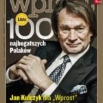 """Lista najbogatszych we """"Wprost"""""""
