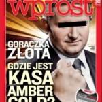 """""""Wprost"""" o kasie Amber Gold i z książką Nurowskiej"""