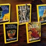 """Pięć okładek """"National Geographic Polska"""""""
