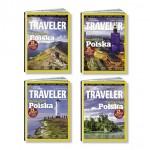 """Cztery okładki """"National Geographic Traveler"""""""