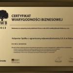 Kolporter z wyróżnieniem od Bisnode Polska