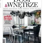 """Magazyn """"Dom & Wnętrze"""" o polskim designie"""