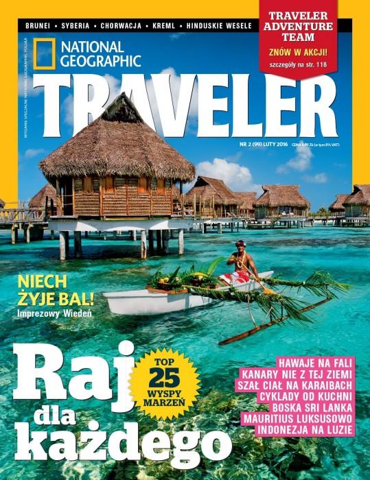 NG Traveler - okładka luty 2016