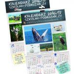 """""""Kalendarz szkolno-podróżniczy"""" w prezencie"""